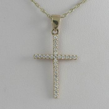křížek s kamínky