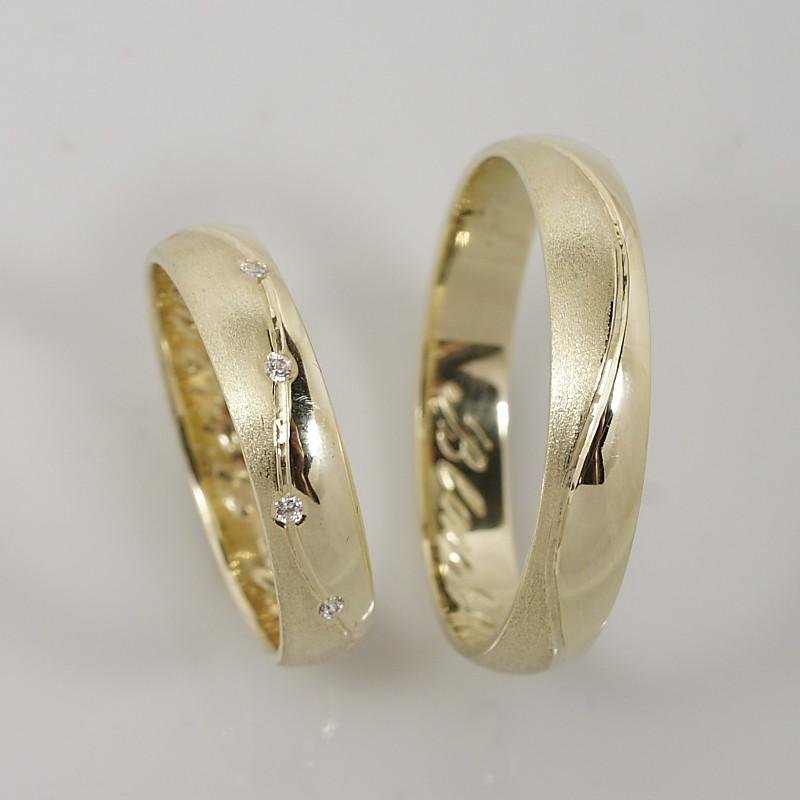 Snubní prsteny 004