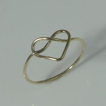 prsten srdíčko