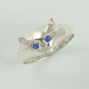 prsten kočka
