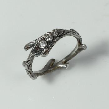 prsten větvička