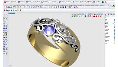 3D modelování šperku